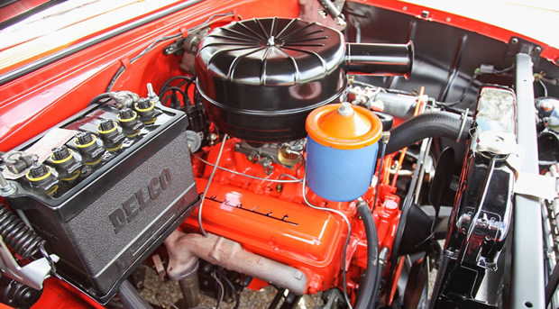 1955 Chevy 265 V8 with Power Pack