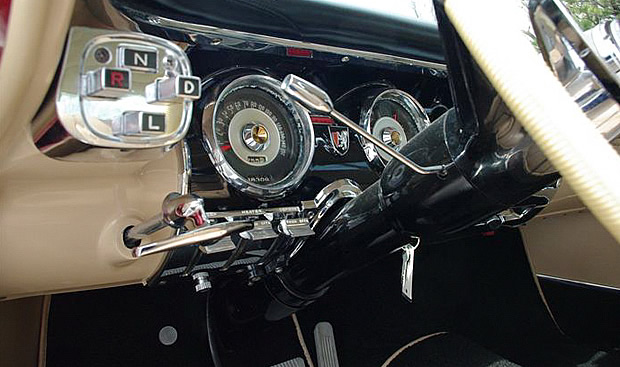 1956 Chrysler 300B Instrument Panel