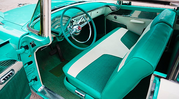 1955 Mercury Montclair Sun Valley Interior