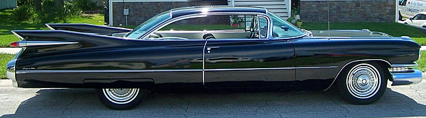 1959 Cadillac Side View