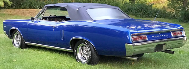 1967 Pontiac LeMans Convertible Rear
