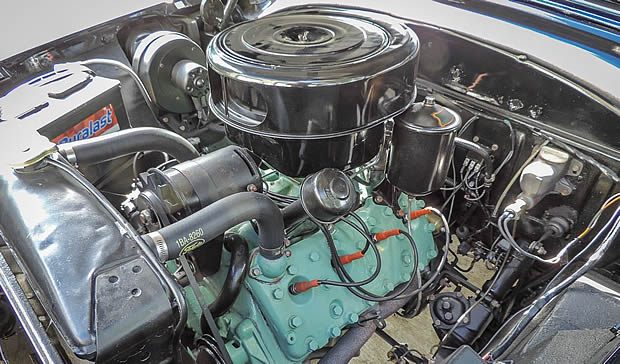 1953 Mercury V8 L-head engine