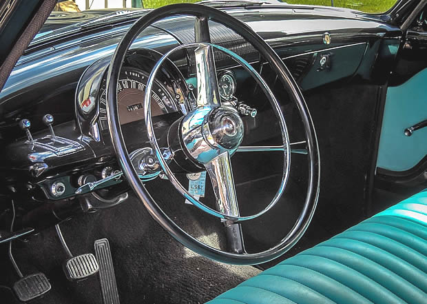 1953 Mercury Monterey Station Wagon Dash
