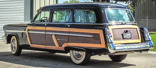 1953 Mercury Monterey Station Wagon - Rear view