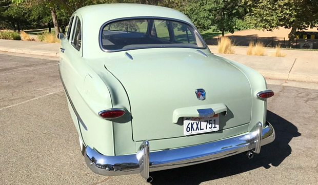 1950 Ford Custom Deluxe Rear View