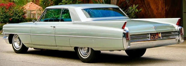 1963 Cadillac 62 Coupe rear