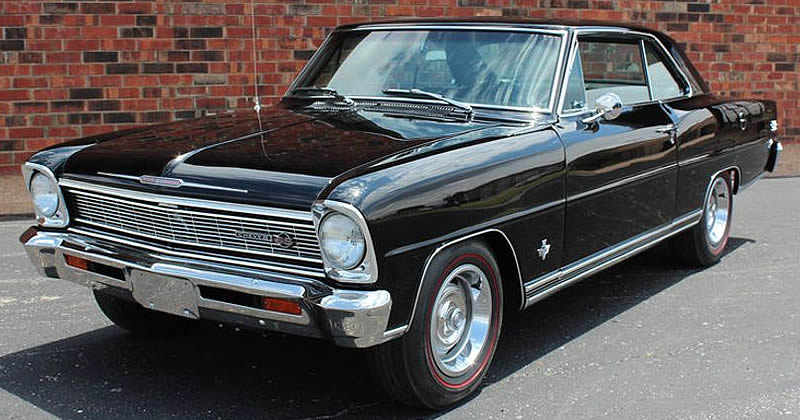 1966 Chevy Ii Nova Ss With Rare L79 327 350 Option
