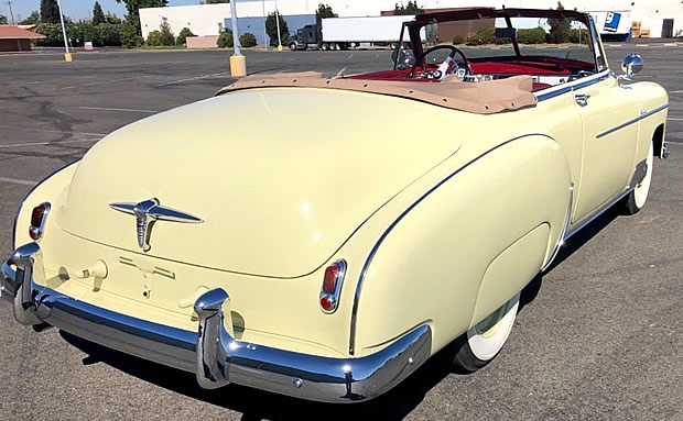 1950 Chevy Deluxe Convertible