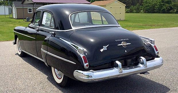 1950 Oldsmobile Eighty-Eight Rear View