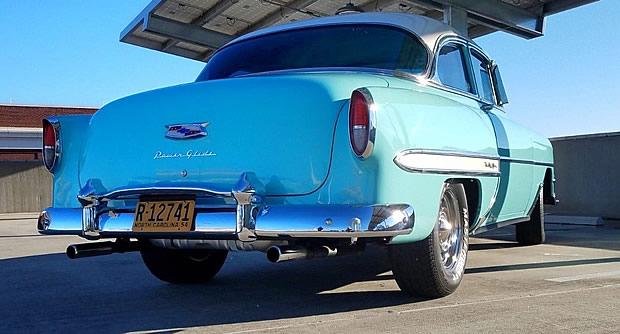1954 Chevrolet Bel Air Rear view