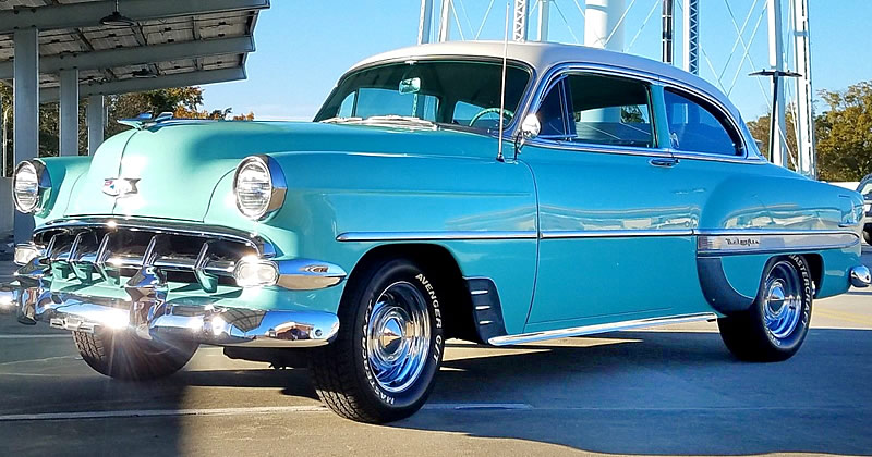 1954 Chevrolet Bel Air 2-door sedan