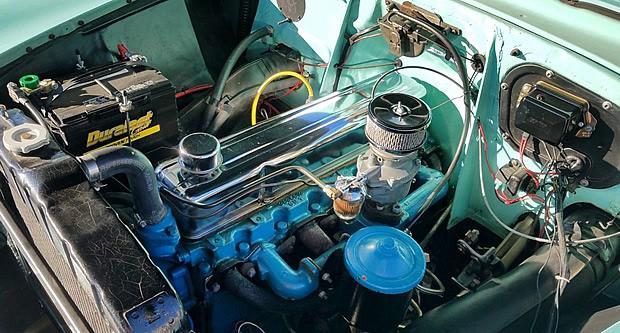 1954 Chevrolet Blue Flame Six