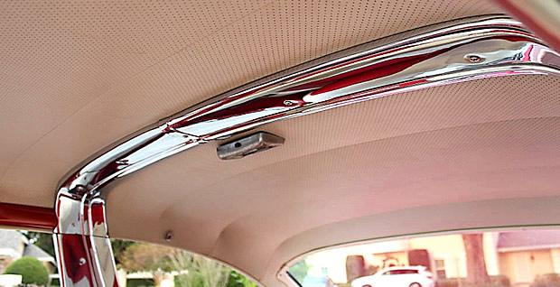 55 Ford Crown Victoria Chrome Band