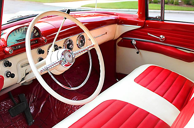 1955 Ford Crown Victoria Dash
