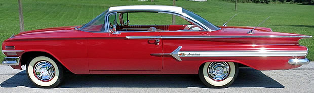 1960 Chevy Impala side view