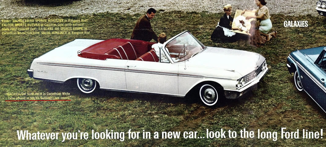 1962 Sunliner - captioned brochure image