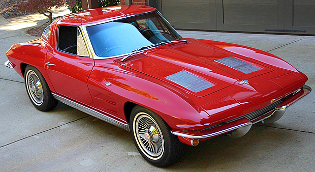 1963 Chevy Corvette Front