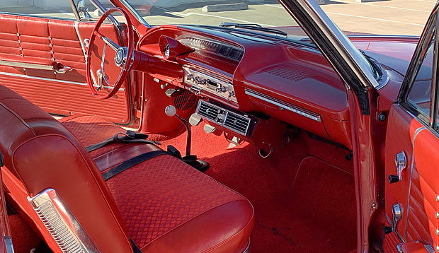 1964 Chevy Impala Interior