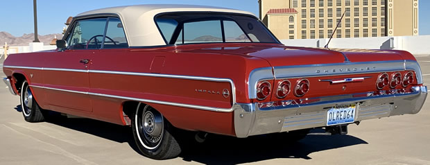1964 Chevy Impala Rear