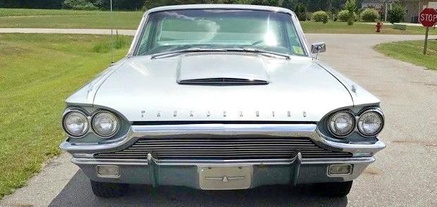 1964 Thunderbird Hood Letters