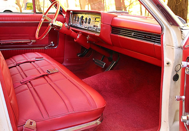1965 Mercury Colony Park Interior