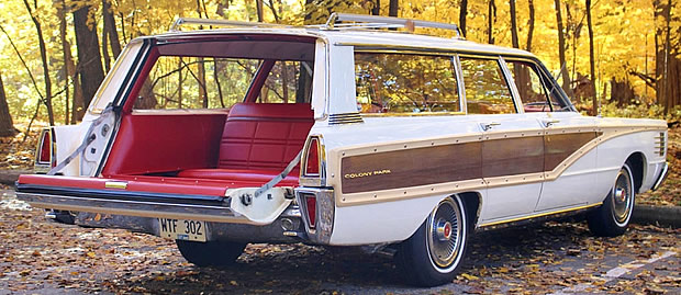 1965 Mercury Colony Park Tailgate