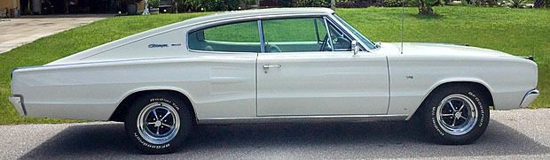 1967 Dodge Charger side view