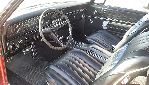 1968 Chevrolet Impala SS Interior