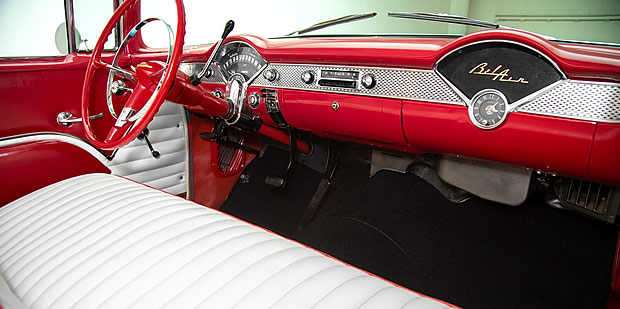 1955 Chevrolet Bel Air Interior