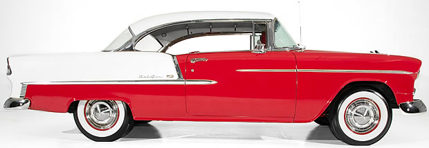 1955 Chevrolet Bel Air side view