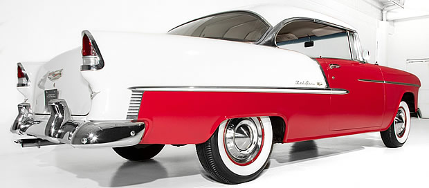 1955 Chevrolet 2-door hardtop rear