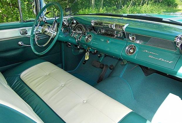 1955 Pontiac Safari Dash / Interior