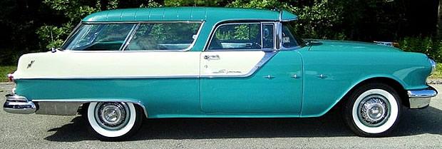 1955 Pontiac Star Chief Safari Station Wagon