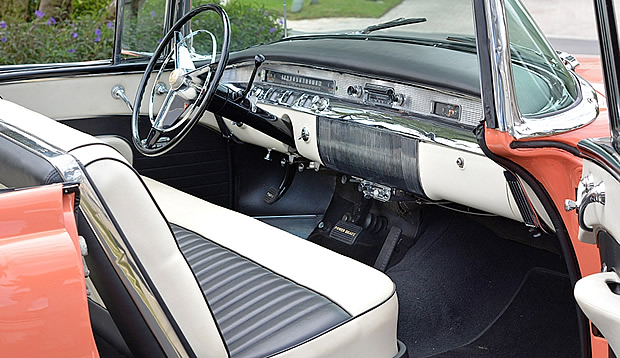 1956 Buick Roadmaster Convertible Interior