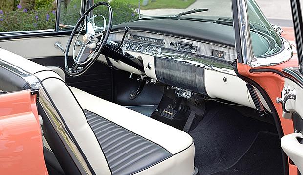 1956 Buick Roadmaster Convertible Interior
