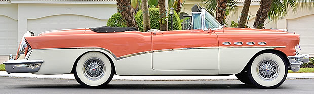 1956 Buick Roadmaster Convertible Side View