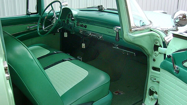 1956 Ford Parklane Interior
