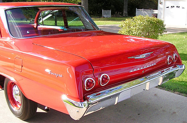 1962 Chevy Biscayne - rear view