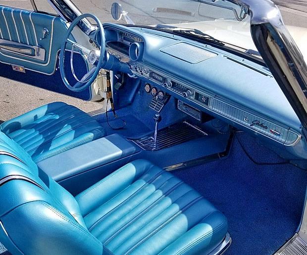 1963 Galaxie 500XL Convertible Interior