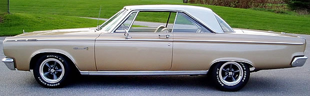 1965 Dodge Coronet Side View