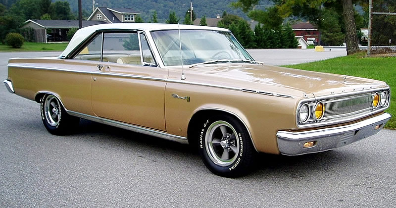 1965 Dodge Coronet 500 318 Cubic Inch V8 With Torqueflite