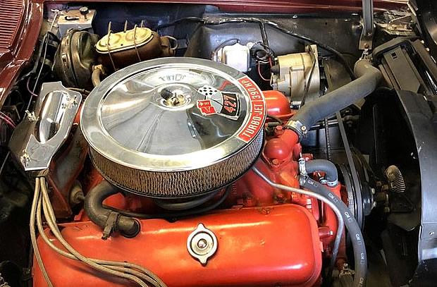 427 Turbo-Jet V8 - 1967 Corvette
