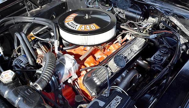 1969 Dodge 440 Magnum V8 Engine