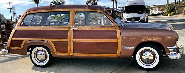 1950 Ford Custom Deluxe Woodie