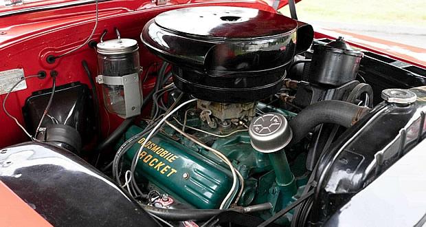 1953 Oldsmobile Rocket 303 V8 engine