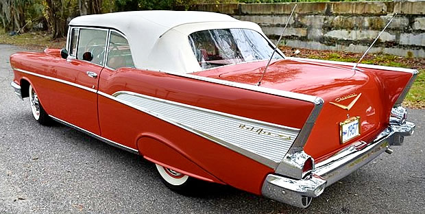 1957 Chevy Bel Air - rear view