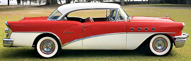 1955 Buick Century - Side View