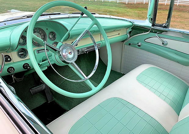 1956 Ford Fairlane Crown Victoria Dash