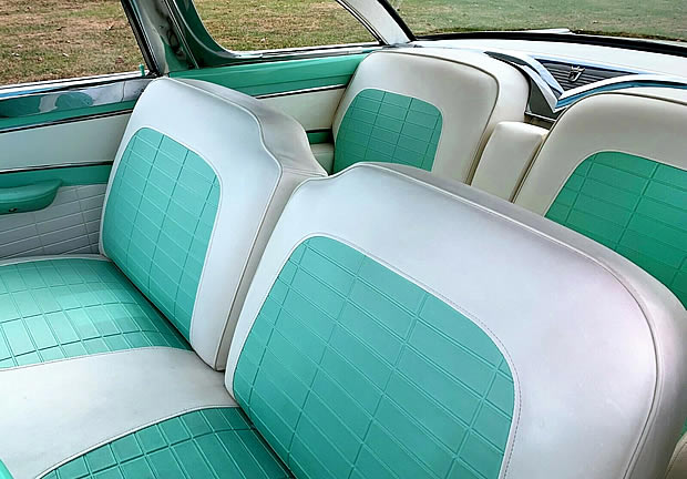 1956 Crown Victoria Interior