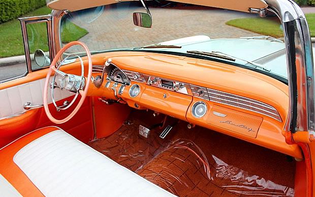 1956 Pontiac Star Chief Convertible interior